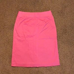 Gently used Lily Pulitzer Pencil Skirt 2 pink